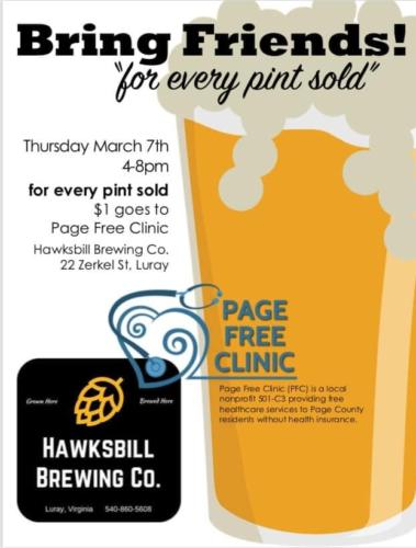 Pints for a Cause Advertisement