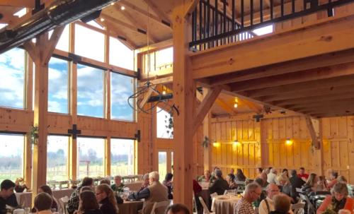 2016 - First Thanksgiving fundraiser at Faithbrooke Barn and Vineyards